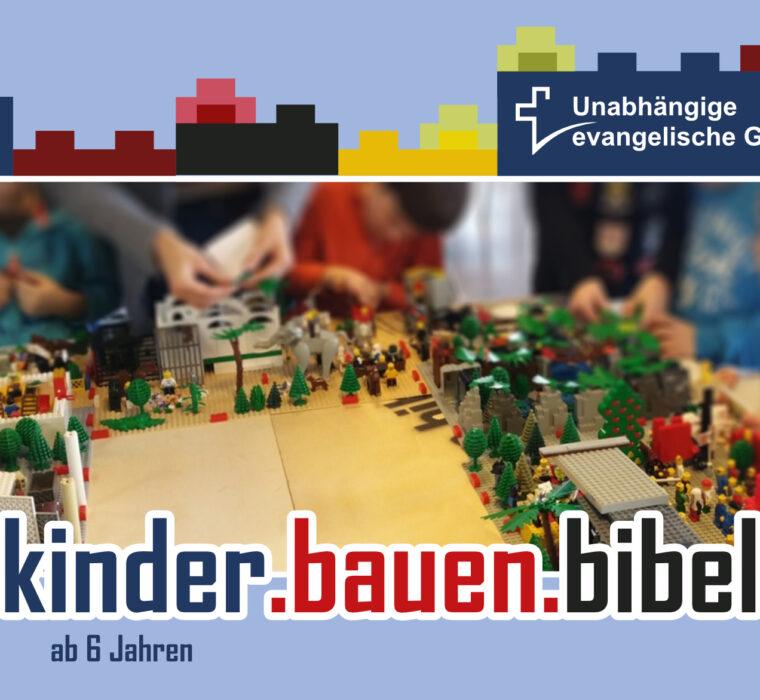 Unabhängige evangelische Gemeinde Friedrichshafen kinder-bauen-bibel - Legovormittag 2021